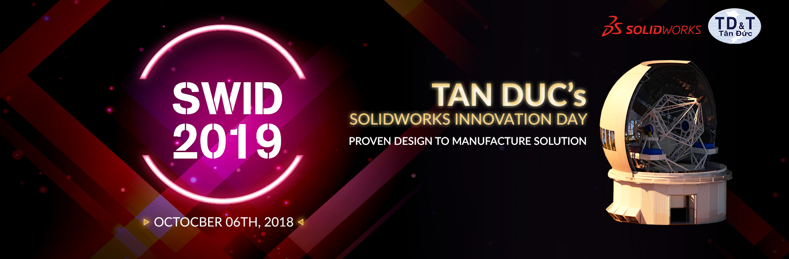Tân Đức - SolidWorks Innovation Day 2019