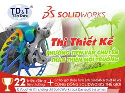 """Cuộc thi """"Sáng tạo cùng SolidWorks"""""""