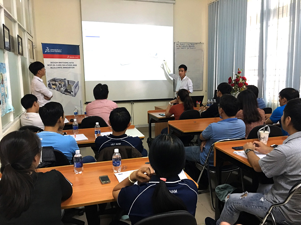 WORKSHOP : ỨNG DỤNG SOLIDWORKS TRONG THIẾT KẾ GỖ & NỘI THẤT