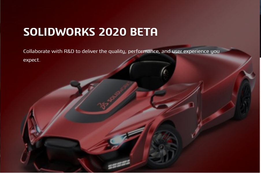 SOLIDWORKS 2020 BETA !